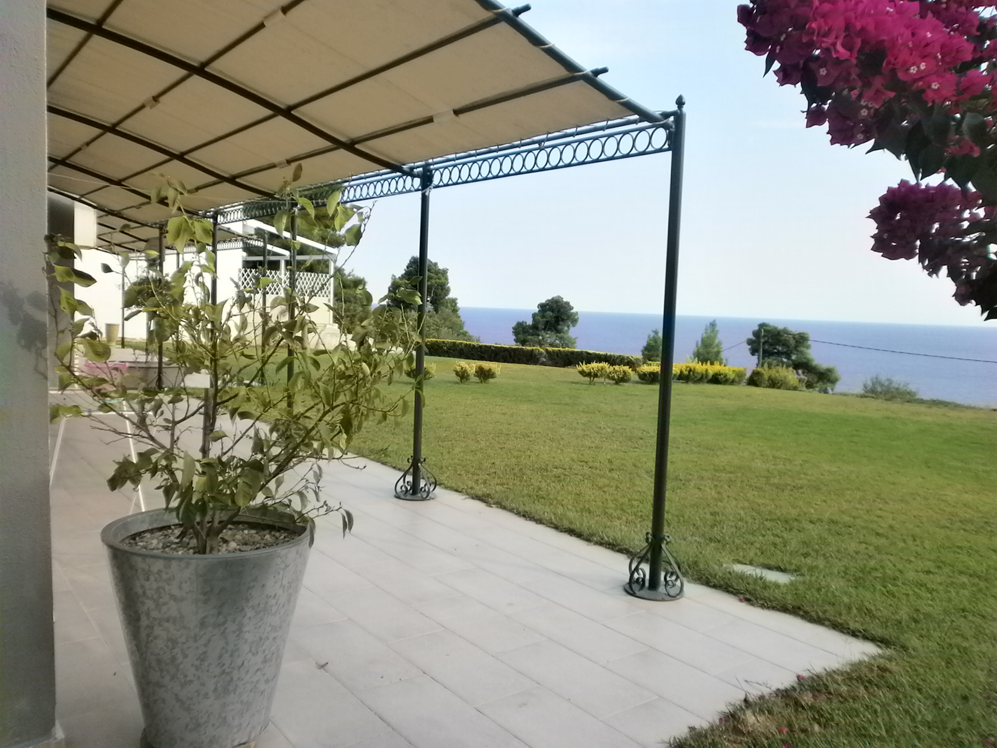 Plutonas, Halkidiki-Kassandra, Greece - bungalow with a big plot and panoramic view