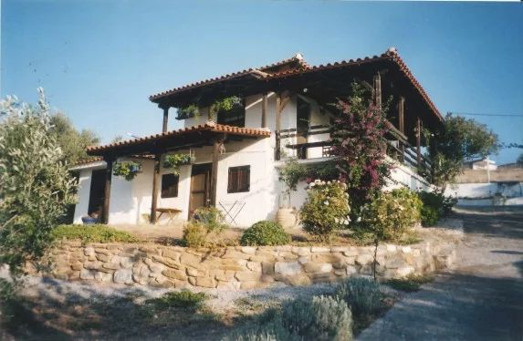 Kipos, Halkidiki-Sithonia, Greece - cottage with a big plot for sale near to the great beach