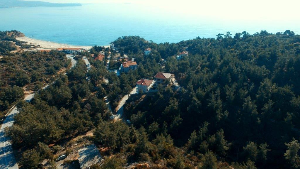 Land Plot Thassos 8, Northern Aegean Islands, Greece - Ideal plot inside pone-trees for construction of mini-hotel