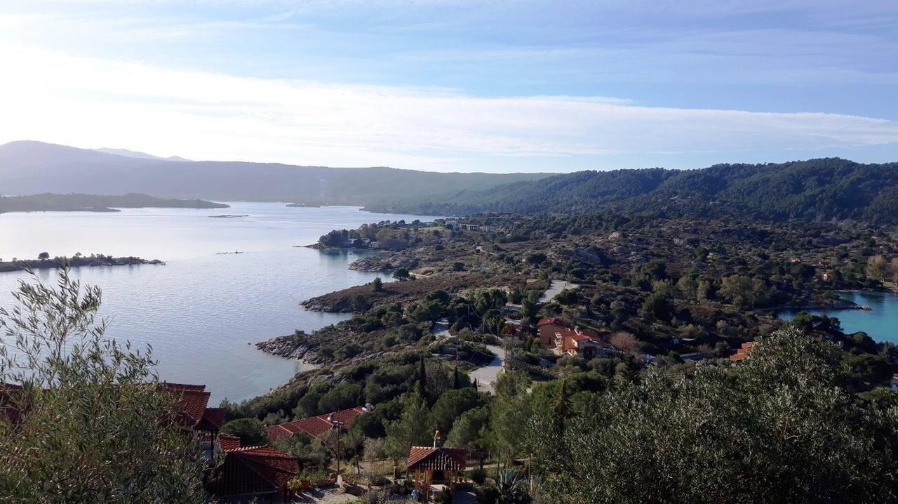 Ormos, Halkidiki-Sithonia, Greece - Non finished villa with big plot and panoramic views