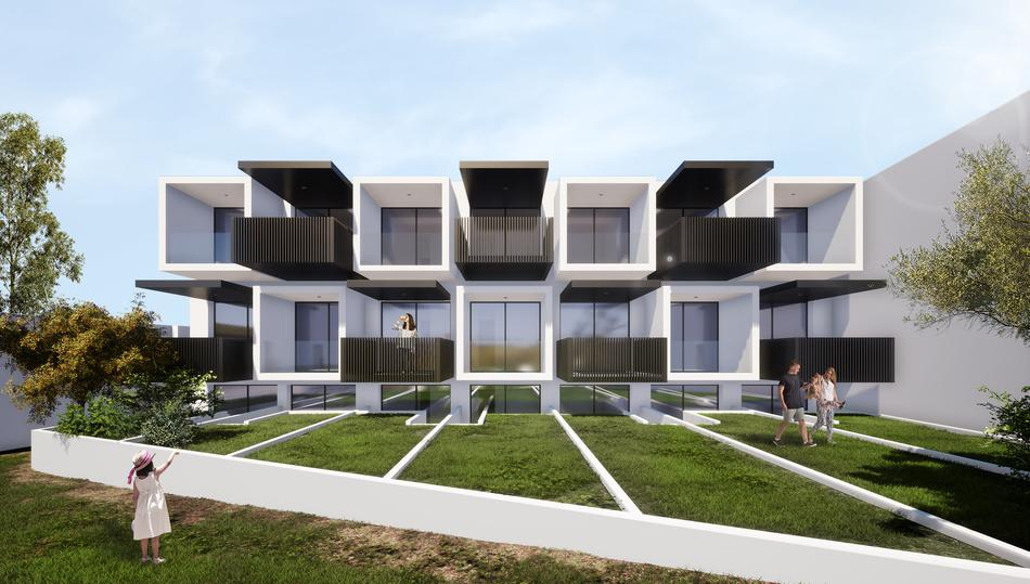 Thetis, Halkidiki-Kassandra, Greece - New complex of vacation studios with common pool