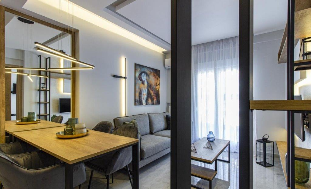G.Konstantinidi, Central Macedonia, Greece - fully furnished and equipted renovated apartment in Thessaloniki next to Nea Paralia