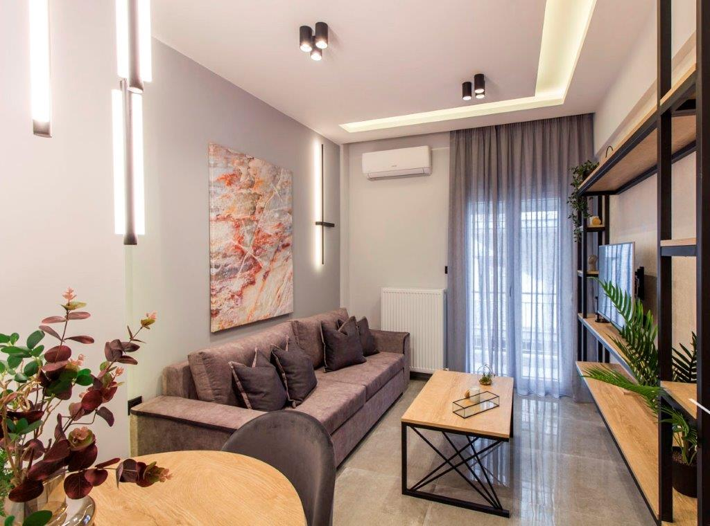 N.Foka A, Central Macedonia, Greece - apartments in Thessaloniki center for long-term or short-term rent