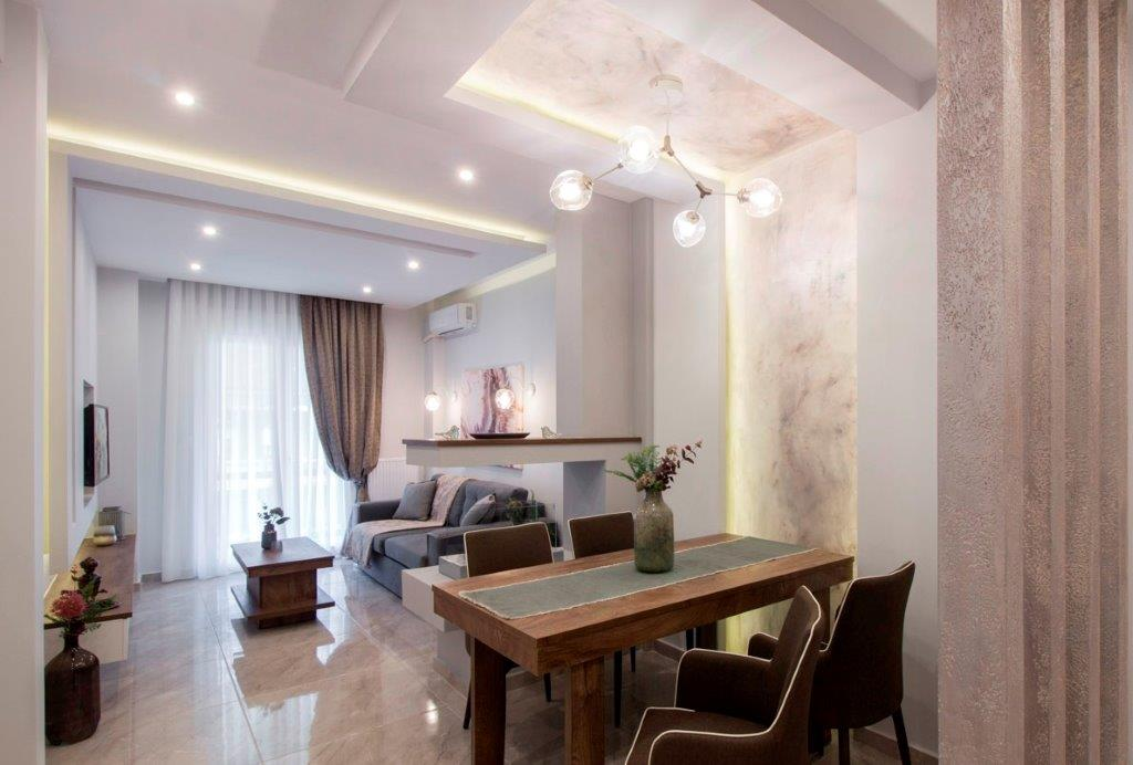 V.Olgas 1, Central Macedonia, Greece - fully furnished and decorated apartment after full renovation near Nea Paralia