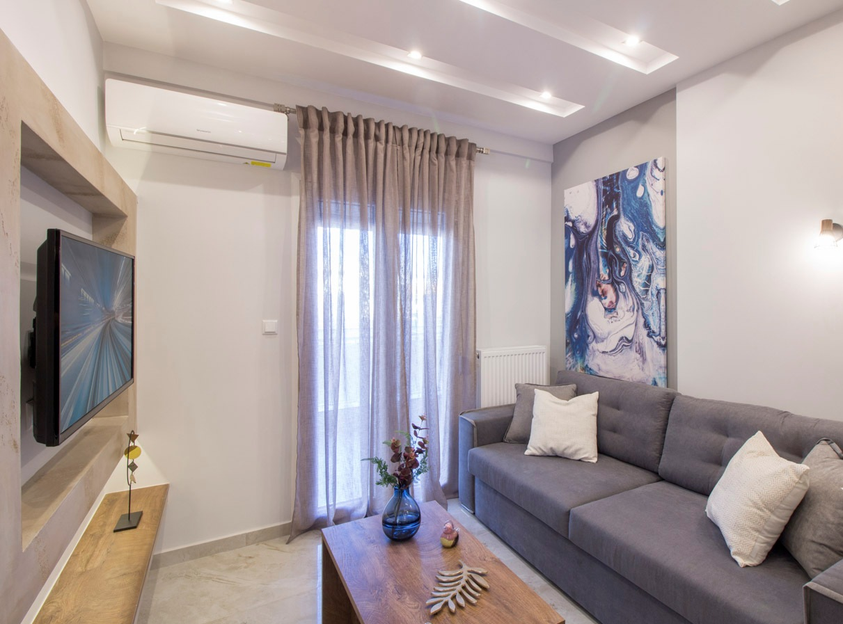 P.Nirvana, Central Macedonia, Greece - apartments in Thessaloniki center for long-term or short-term rent