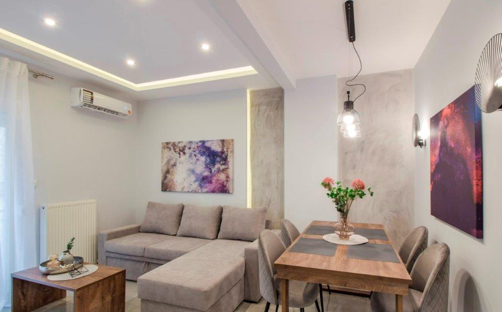 Kontogouri, Central Macedonia, Greece - fully furnished and decorated apartment after full renovation near Nea Paralia