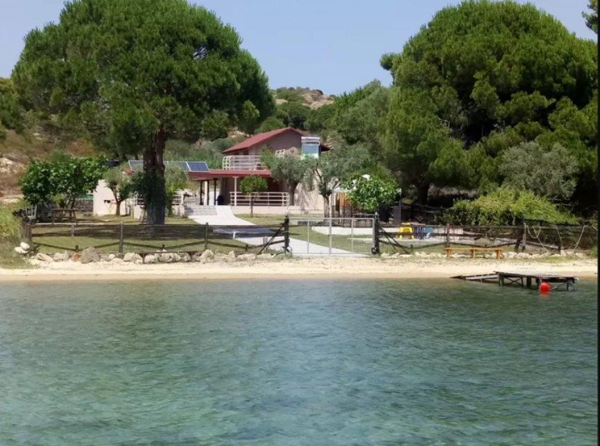 Serenity, Halkidiki-Sithonia, Greece - beachfront house in unique place