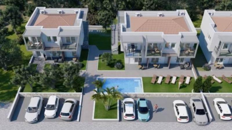 Skala apartments, Northern Aegean Islands, Greece - apartment complex with the pools