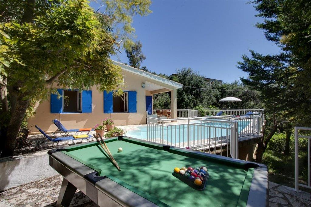 Nissaki, Ionian Islands, Greece - cozy house with a pool and a great view