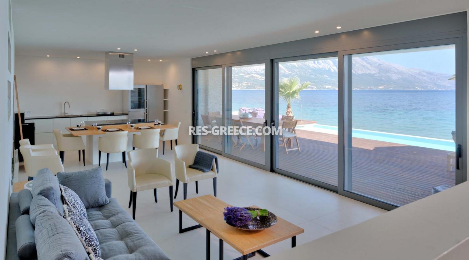 Kastor, Epir, Greece - off-plan villa project first line to the sea - Photo 3