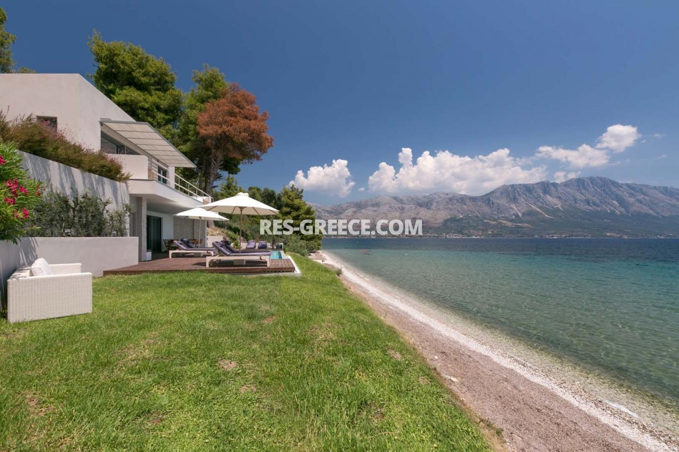 Kastor, Epir, Greece - off-plan villa project first line to the sea - Photo 1