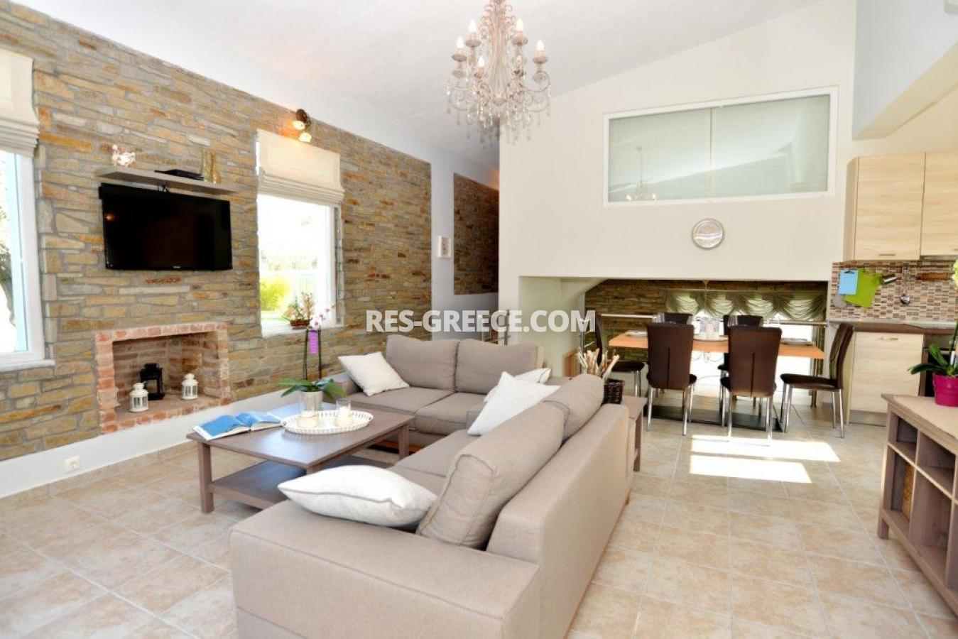 Arhondula Villa 3, Northern Aegean Islands, Greece - ready beachfront complex for rent on Thassos island with EOT licences - Photo 1