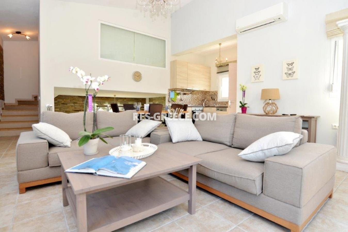 Arhondula Villa 3, Northern Aegean Islands, Greece - ready beachfront complex for rent on Thassos island with EOT licences - Photo 4
