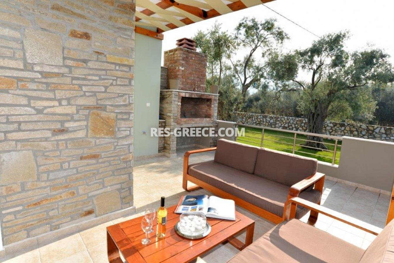 Arhondula Villa 3, Northern Aegean Islands, Greece - ready beachfront complex for rent on Thassos island with EOT licences - Photo 18