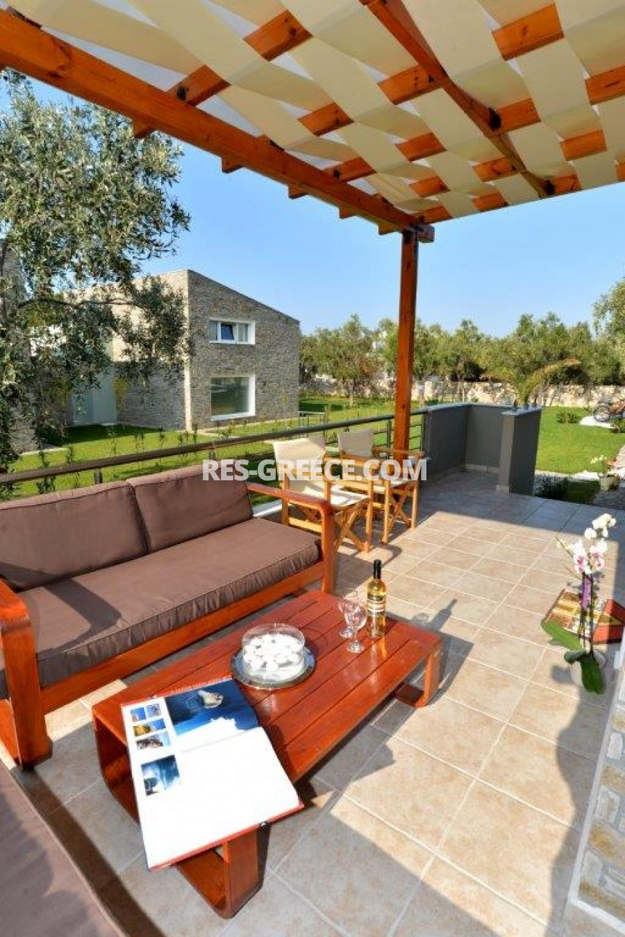 Arhondula Villa 3, Northern Aegean Islands, Greece - ready beachfront complex for rent on Thassos island with EOT licences - Photo 19
