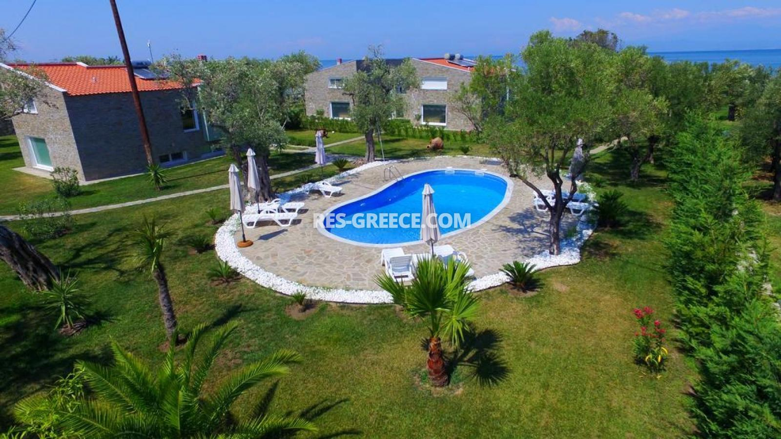 Arhondula Villa 3, Northern Aegean Islands, Greece - ready beachfront complex for rent on Thassos island with EOT licences - Photo 23