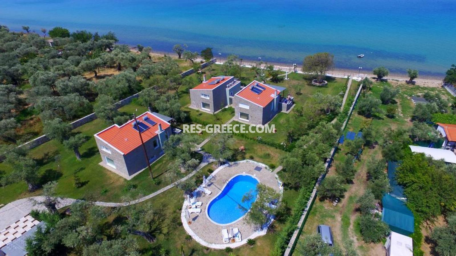 Arhondula Villa 3, Northern Aegean Islands, Greece - ready beachfront complex for rent on Thassos island with EOT licences - Photo 24