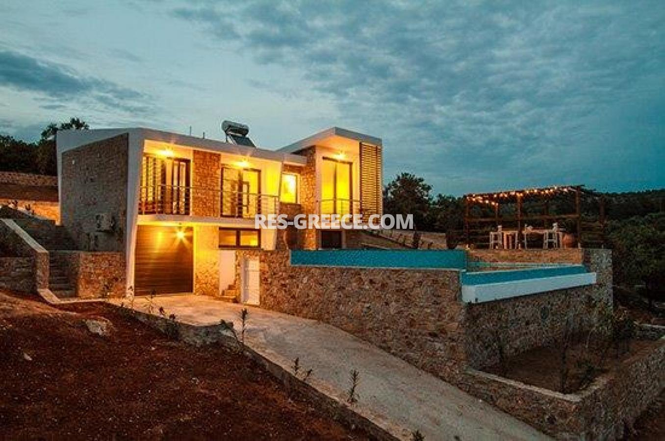 Villa MM, Northern Aegean Islands, Greece - 2 luxury properties in a gated complex with private beach - Photo 19