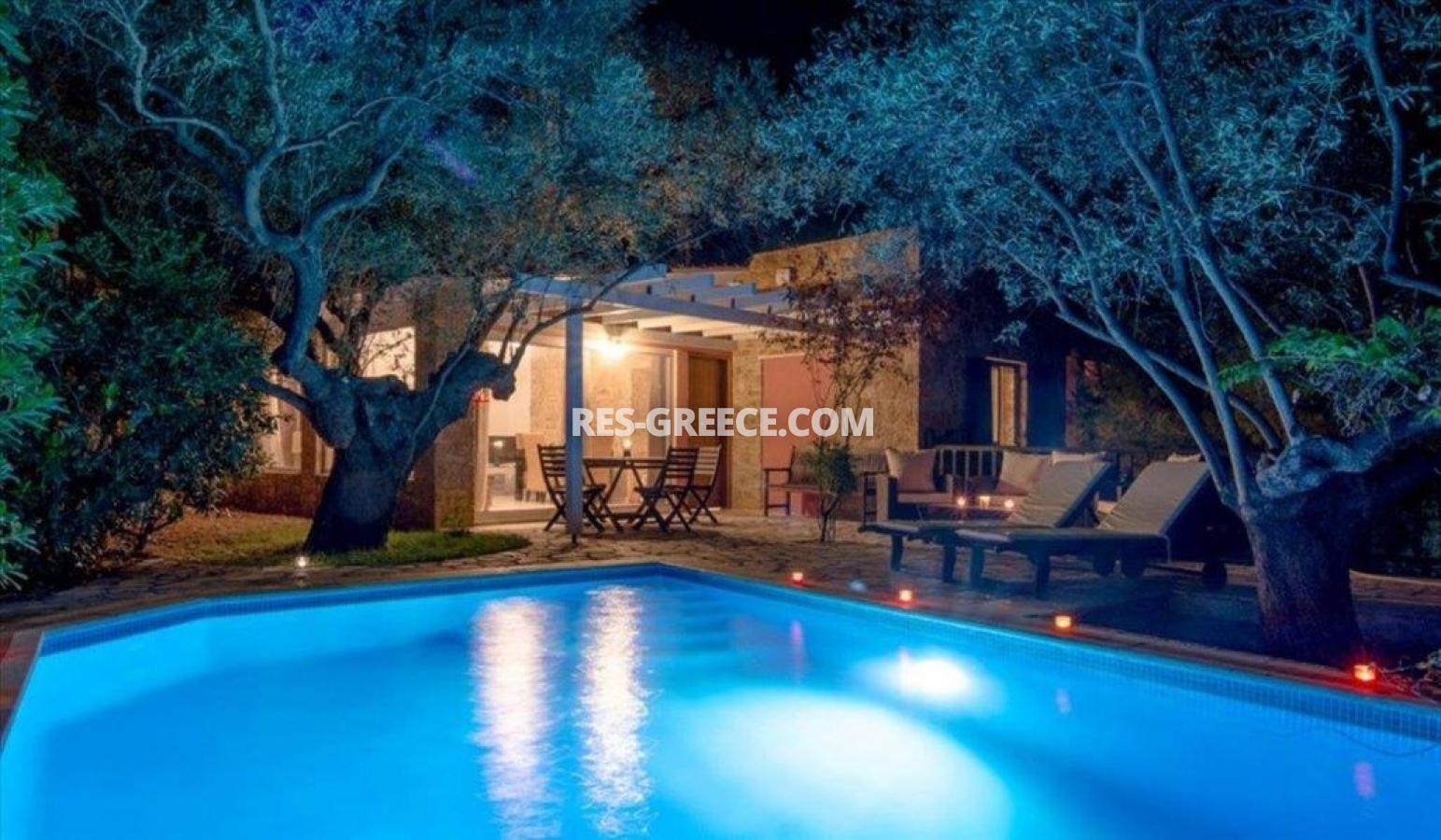 Ilectra, Halkidiki-Sithonia, Greece - cozy cottage with a pool by the sea - Photo 9