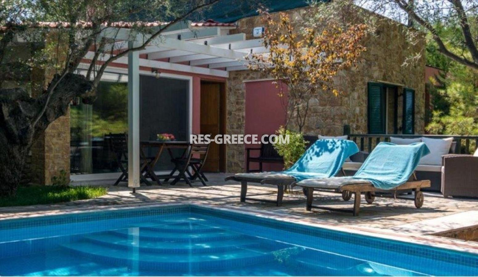 Ilectra, Halkidiki-Sithonia, Greece - cozy cottage with a pool by the sea - Photo 7