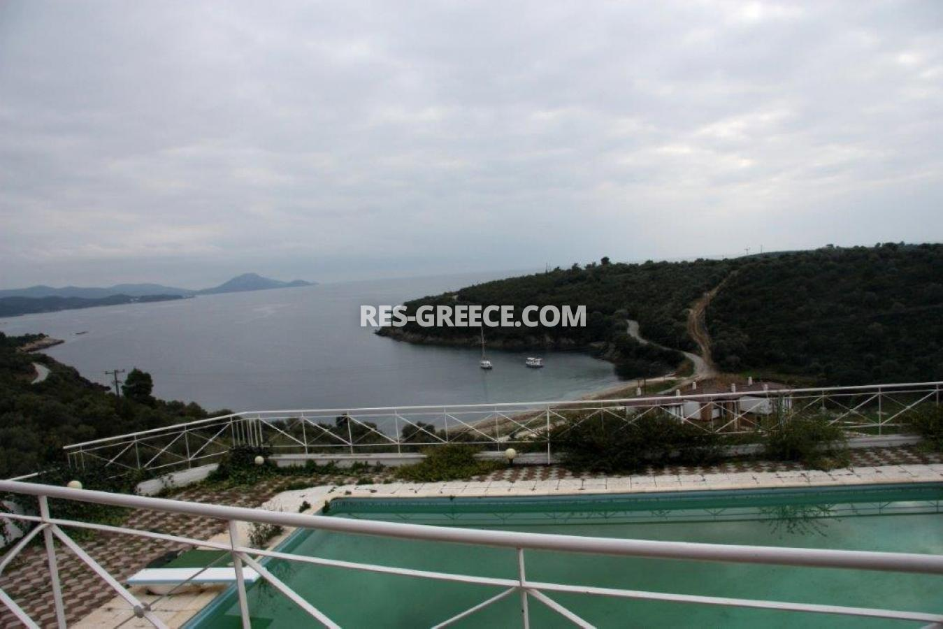 Matteo, Halkidiki-Sithonia, Greece -  complex with the pool in a picturesque bay - Photo 12