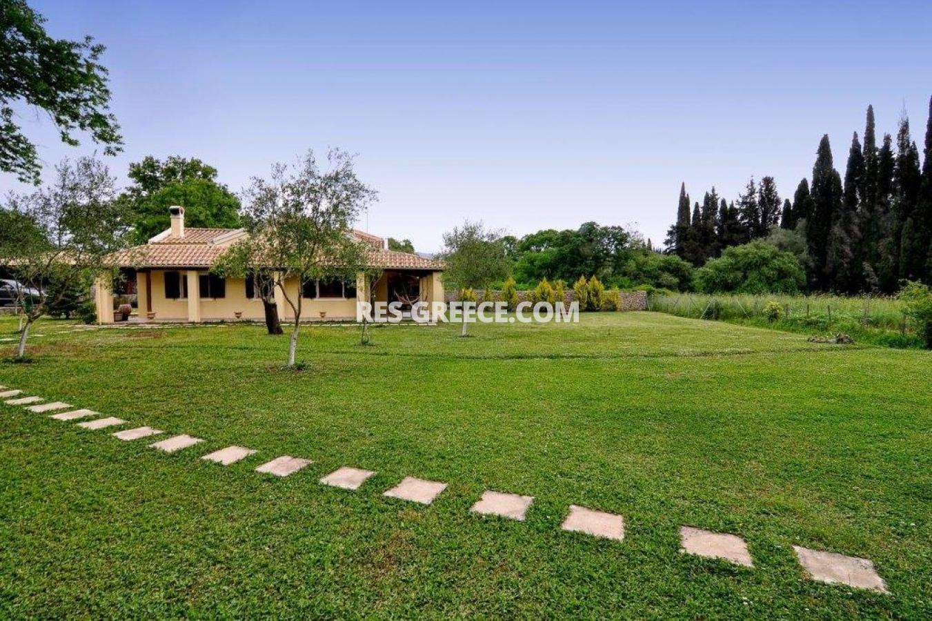Poulades, Ionian Islands, Greece - Mediterranean bungalow for sale in Corfu - Photo 1