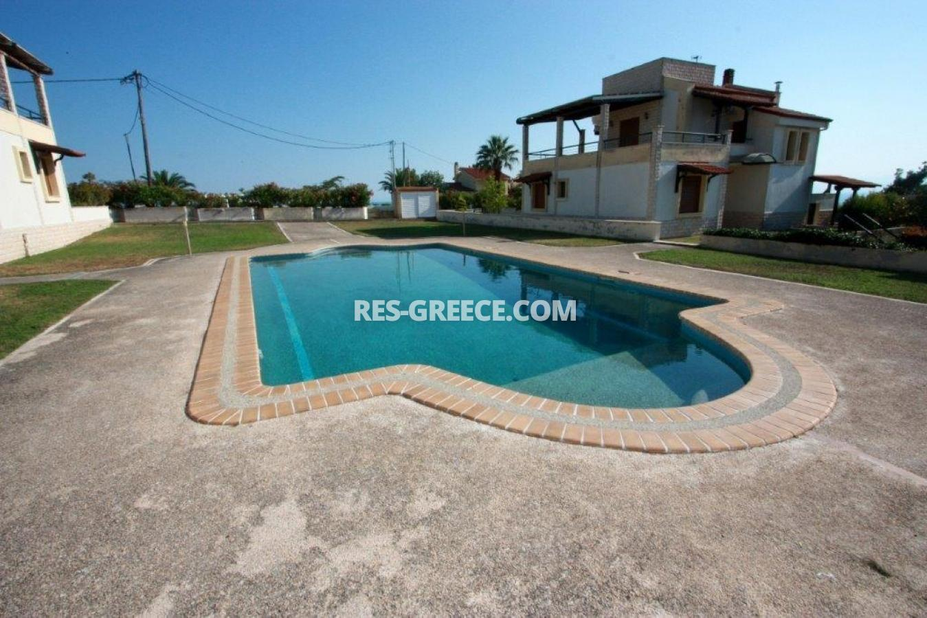 Dasotopi 1, Halkidiki-Kassandra, Greece - beachfront complex with common pool and elevator to the beach - Photo 19