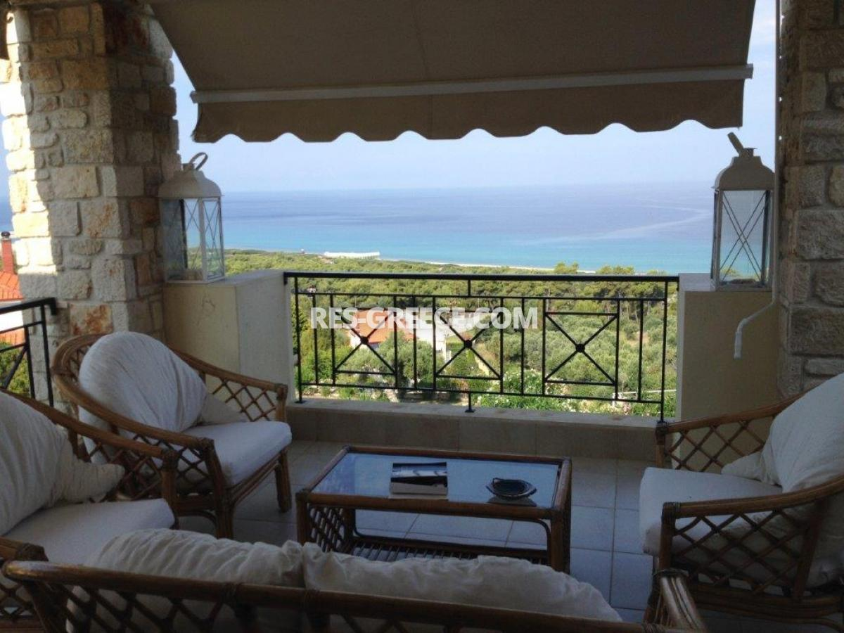 Okialos, Halkidiki-Kassandra, Greece - house for sale in the complex with pool and panoramic sea view - Photo 15