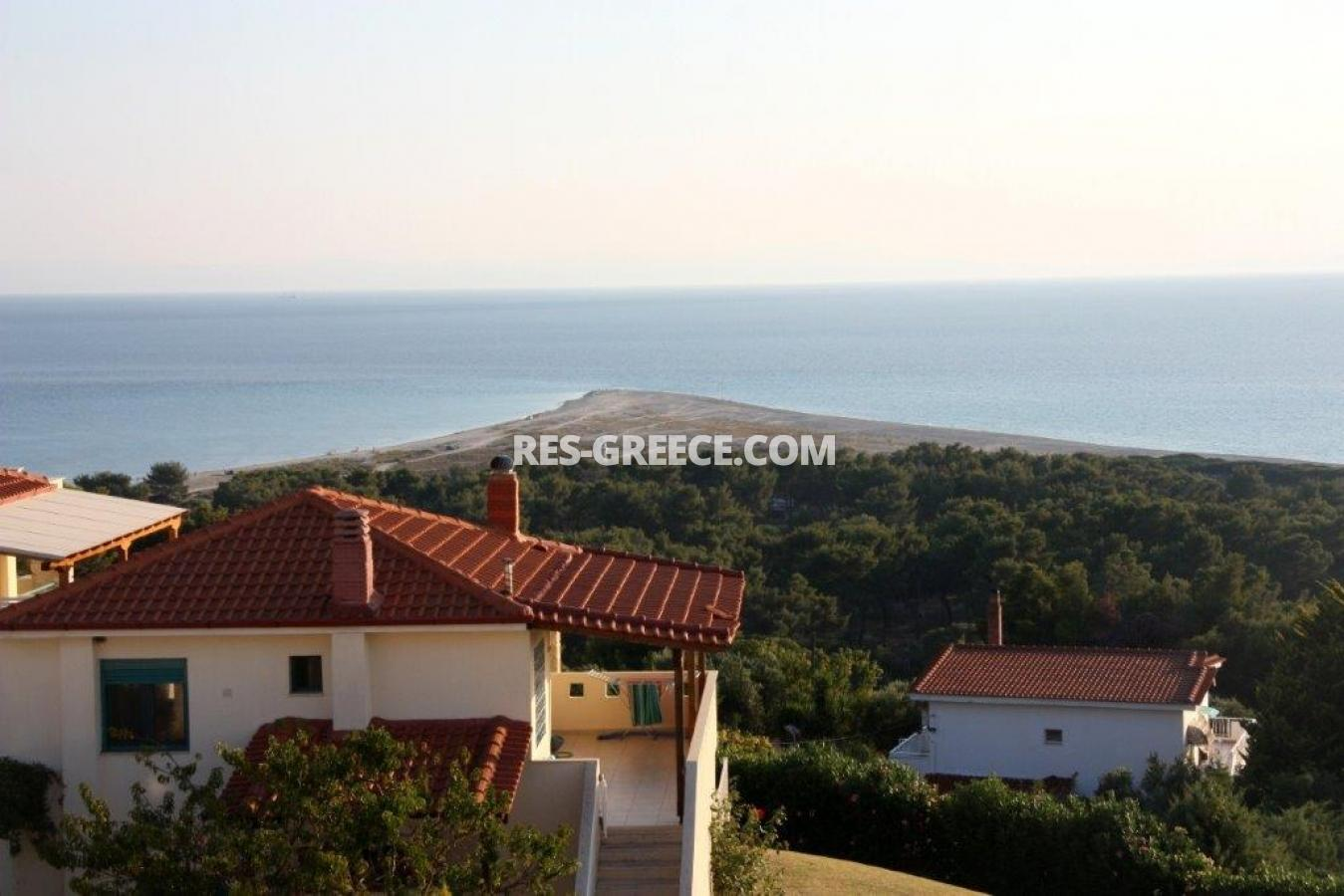 Okialos, Halkidiki-Kassandra, Greece - house for sale in the complex with pool and panoramic sea view - Photo 19