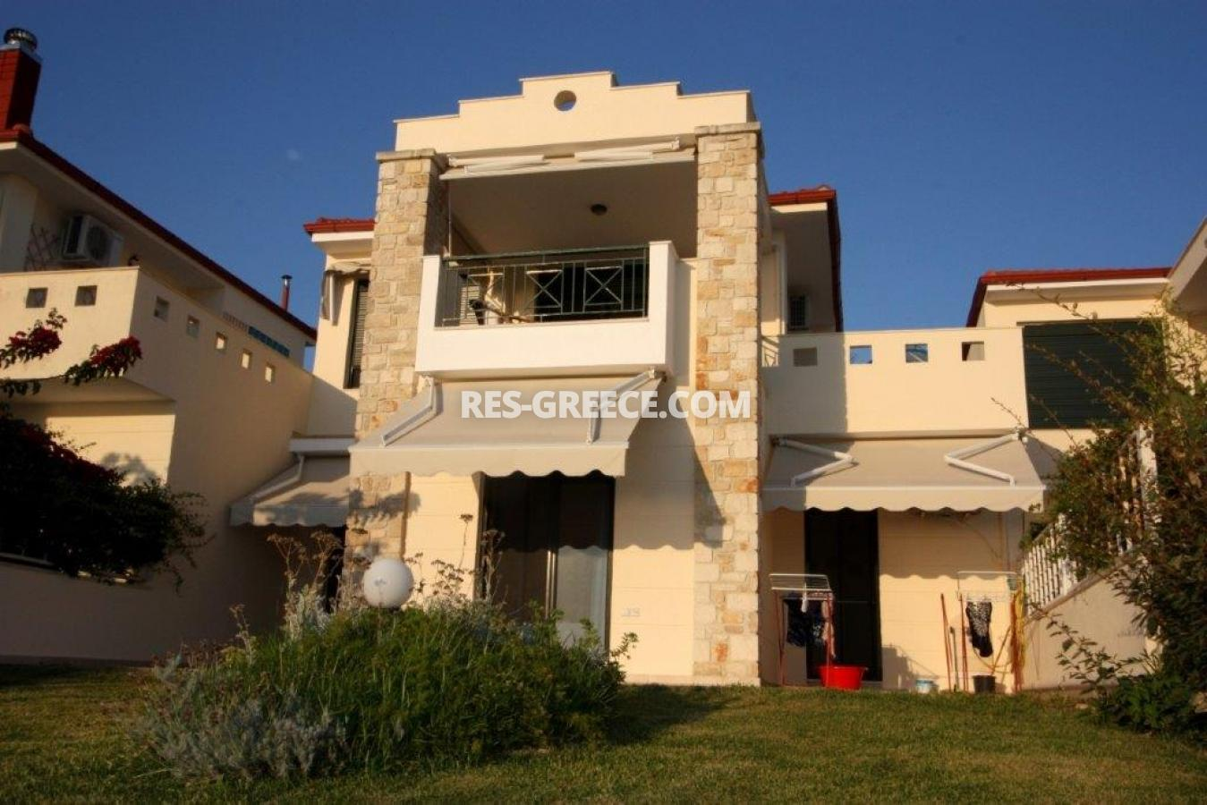 Okialos, Halkidiki-Kassandra, Greece - house for sale in the complex with pool and panoramic sea view - Photo 1