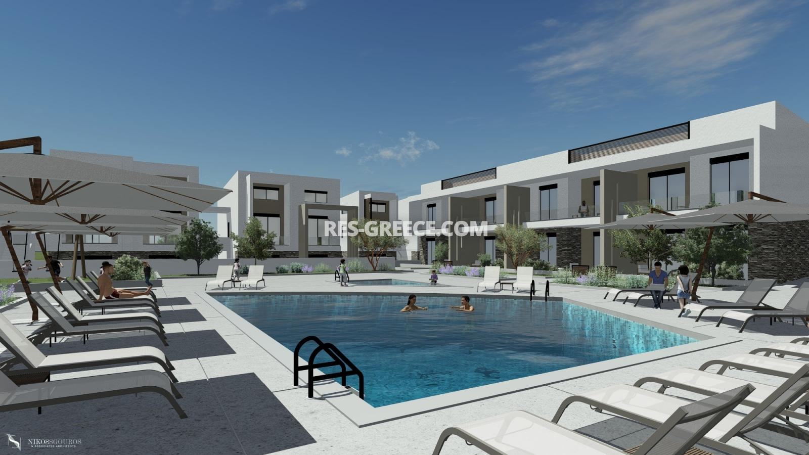 Anasa apartments, Halkidiki-Sithonia, Greece - apartments in a new complex with pool - Photo 3