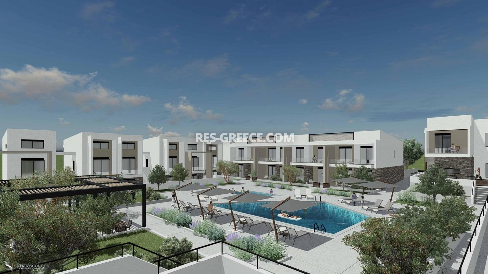 Anasa apartments, Halkidiki-Sithonia, Greece - apartments in a new complex with pool - Photo 4