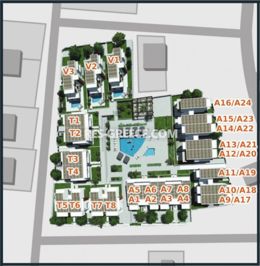 Anasa apartments, Halkidiki-Sithonia, Greece - apartments in a new complex with pool - Photo 16