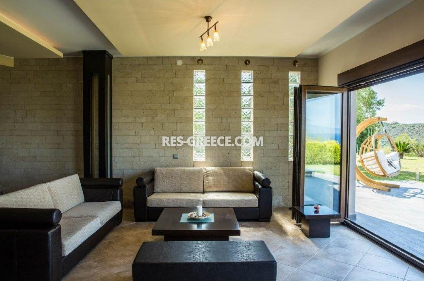 Delfini, Halkidiki-Kassandra, Greece - complex of 2 villas with panoramic view for sale - Photo 10
