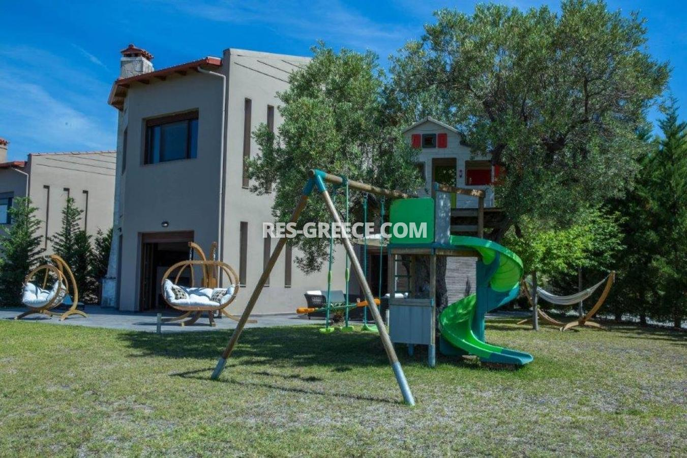 Delfini, Halkidiki-Kassandra, Greece - complex of 2 villas with panoramic view for sale - Photo 2