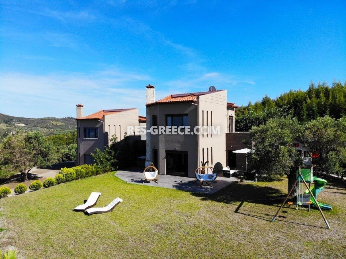 Delfini, Halkidiki-Kassandra, Greece - complex of 2 villas with panoramic view for sale - Photo 4
