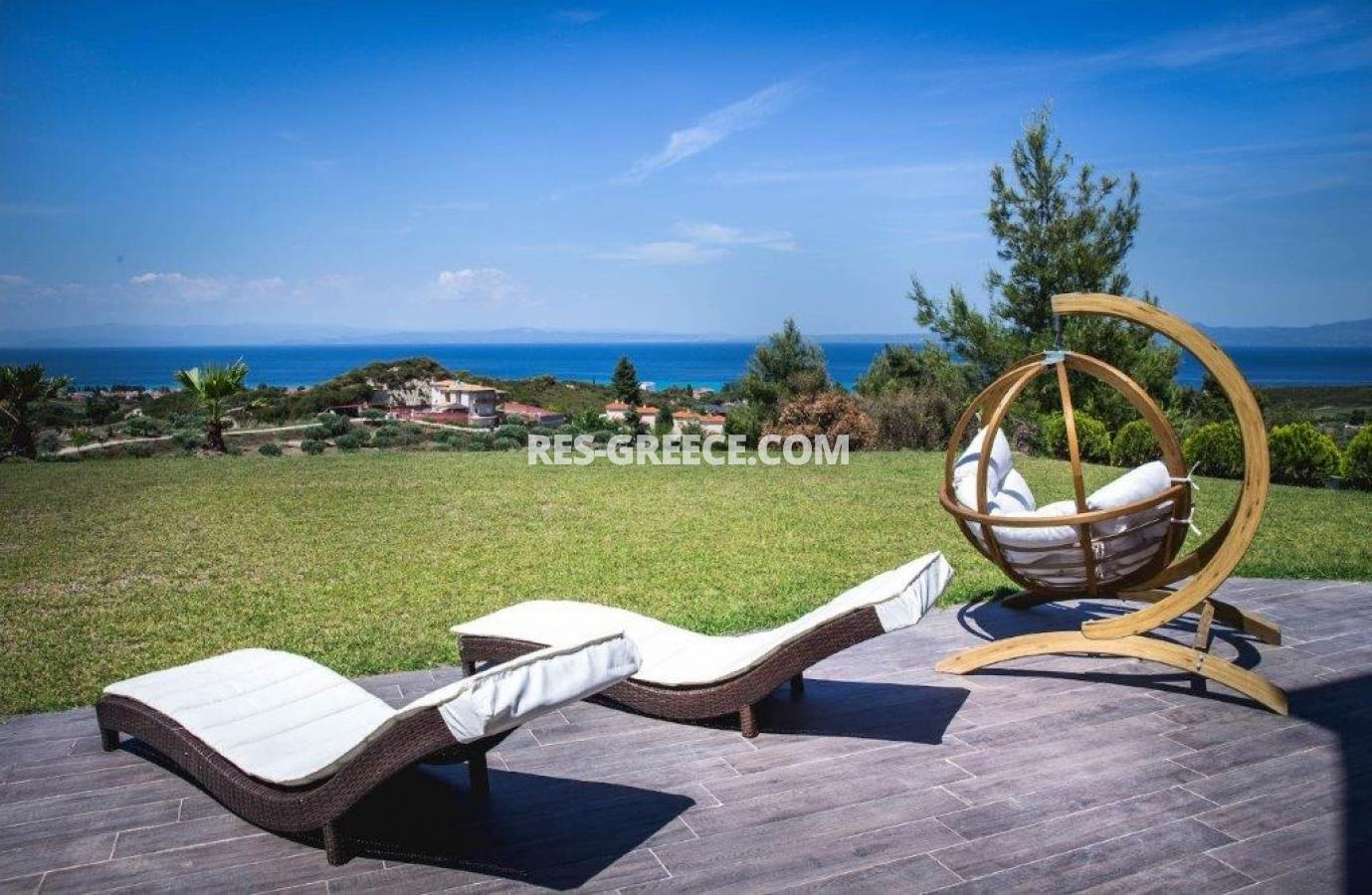 Delfini, Halkidiki-Kassandra, Greece - complex of 2 villas with panoramic view for sale - Photo 13