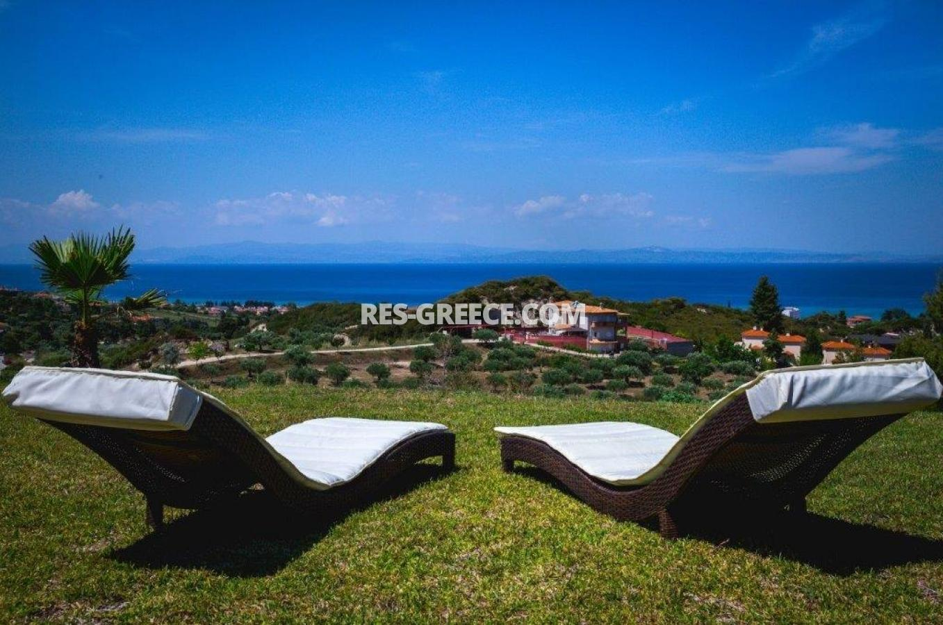 Delfini, Halkidiki-Kassandra, Greece - complex of 2 villas with panoramic view for sale - Photo 1