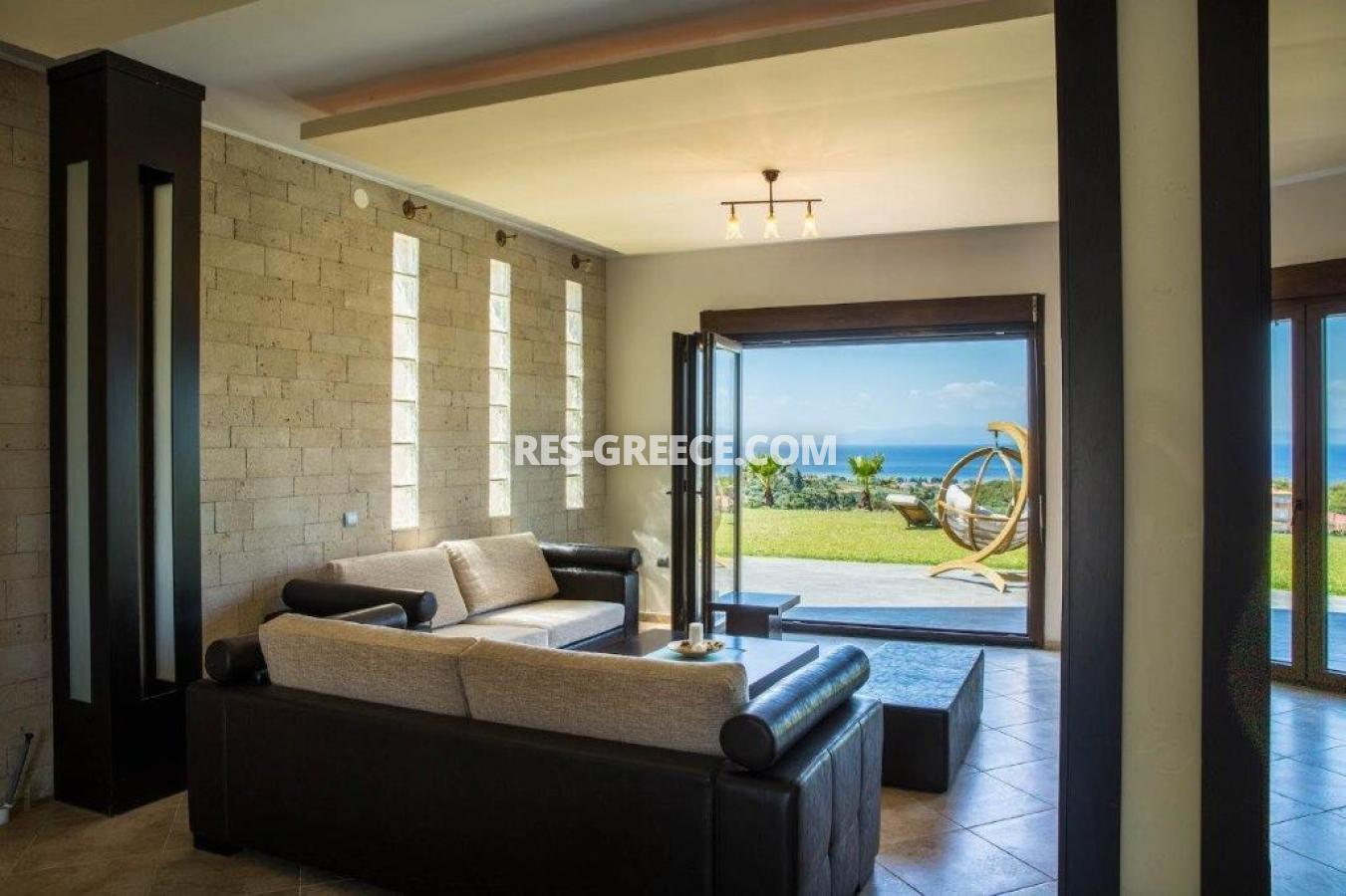 Delfini, Halkidiki-Kassandra, Greece - complex of 2 villas with panoramic view for sale - Photo 9