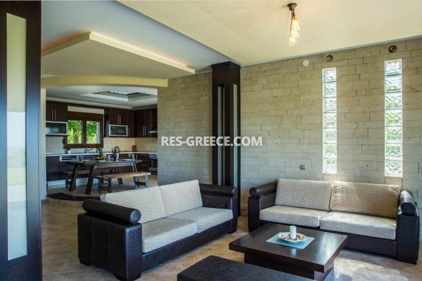 Delfini, Halkidiki-Kassandra, Greece - complex of 2 villas with panoramic view for sale - Photo 7