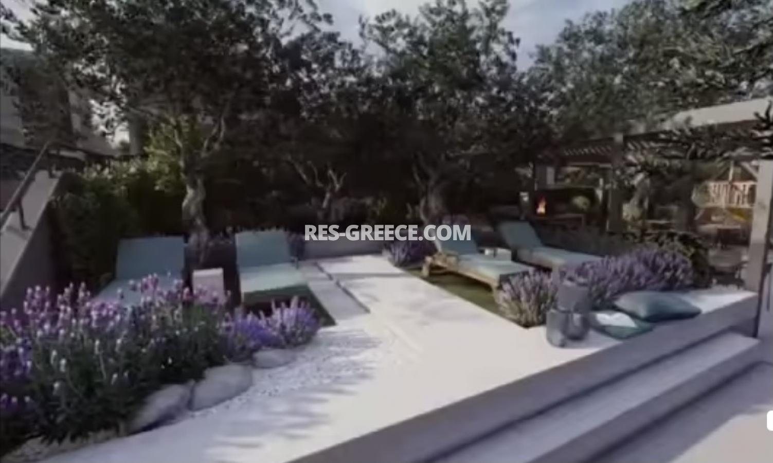 Anasa townhouses, Halkidiki-Sithonia, Greece - cottages in a new complex with the pool - Photo 9