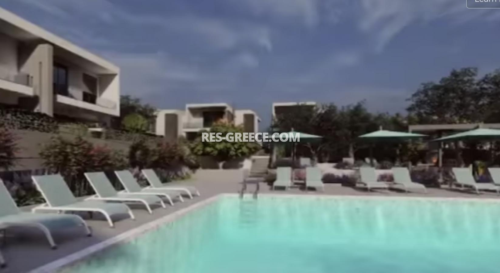 Anasa townhouses, Halkidiki-Sithonia, Greece - cottages in a new complex with the pool - Photo 14
