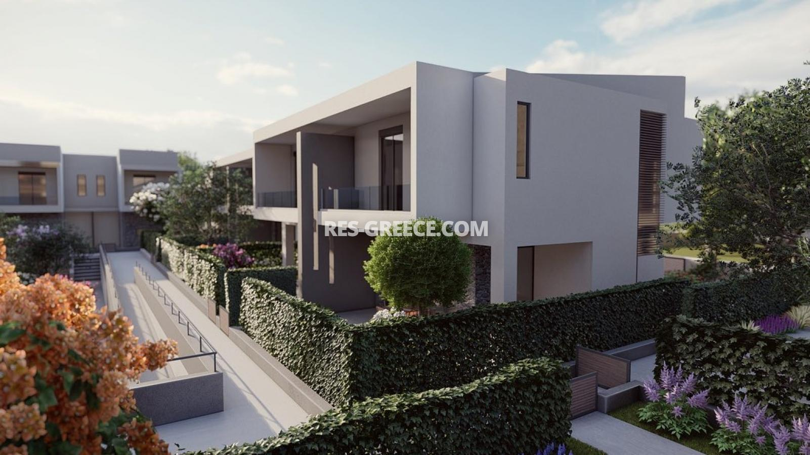 Anasa townhouses, Halkidiki-Sithonia, Greece - cottages in a new complex with the pool - Photo 1