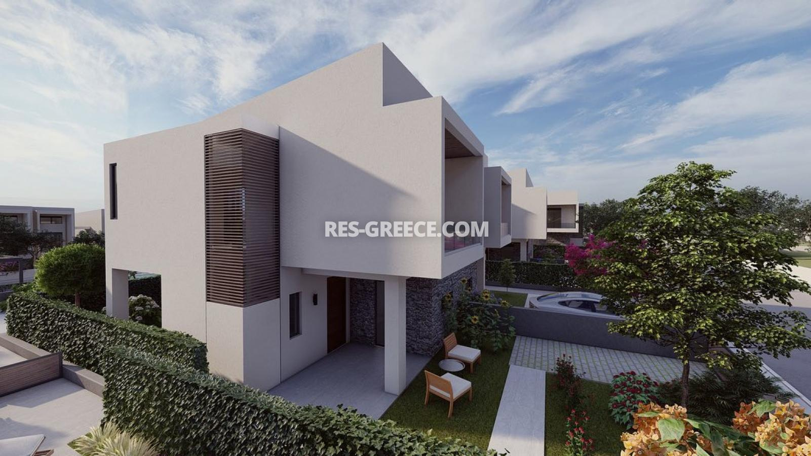 Anasa townhouses, Halkidiki-Sithonia, Greece - cottages in a new complex with the pool - Photo 4