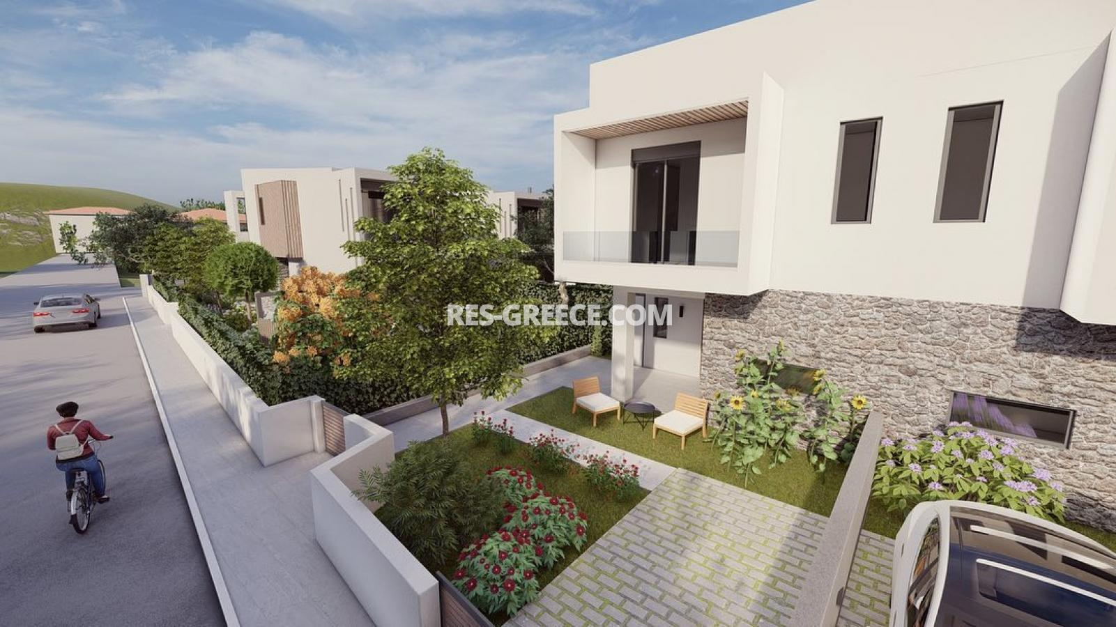 Anasa townhouses, Halkidiki-Sithonia, Greece - cottages in a new complex with the pool - Photo 5