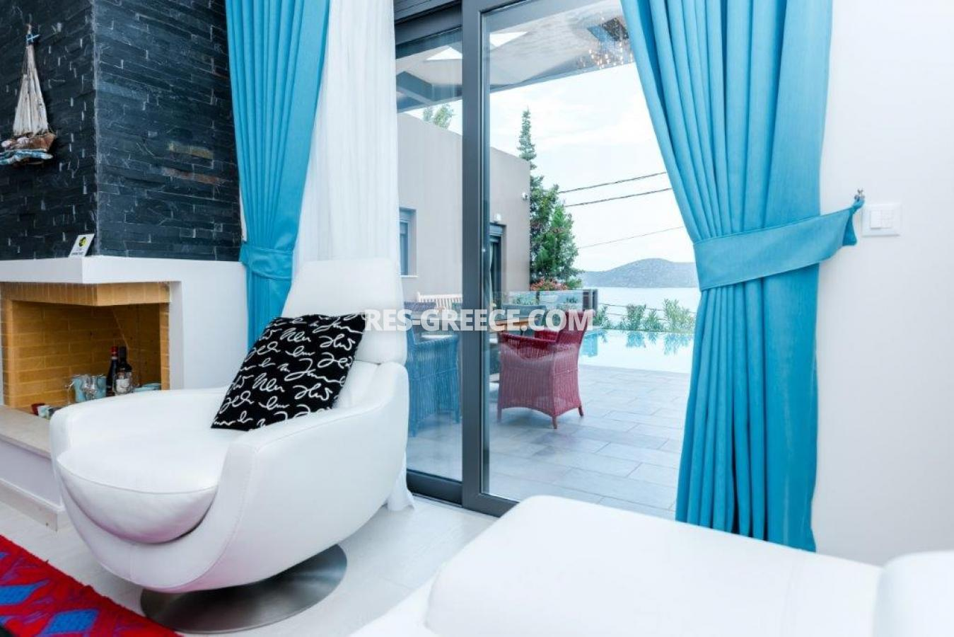 Aura Blue, Crete, Greece - villa with pool for sale in the best spot in Crete, in Elounda - Photo 7