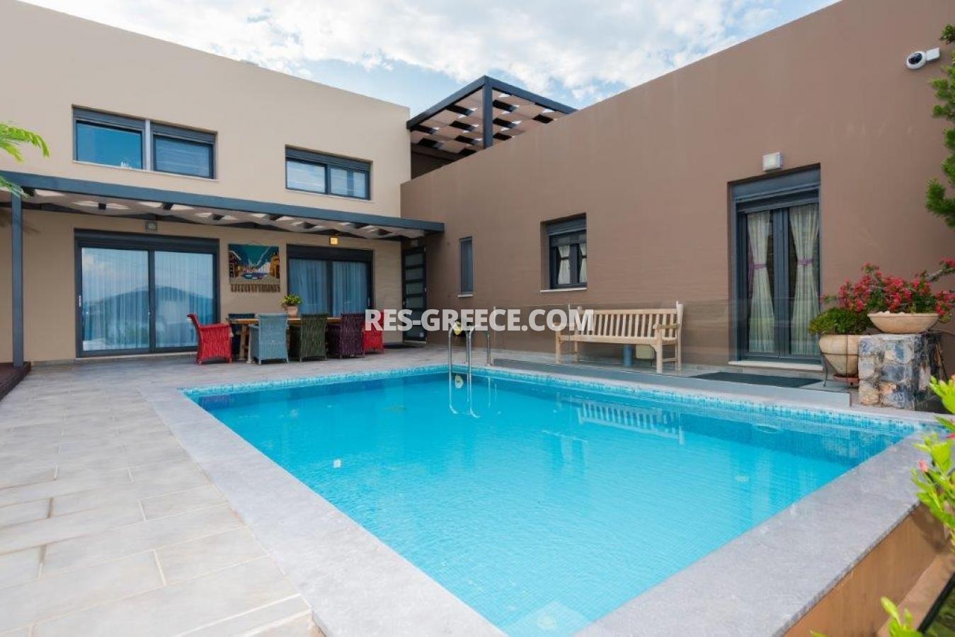 Aura Blue, Crete, Greece - villa with pool for sale in the best spot in Crete, in Elounda - Photo 32