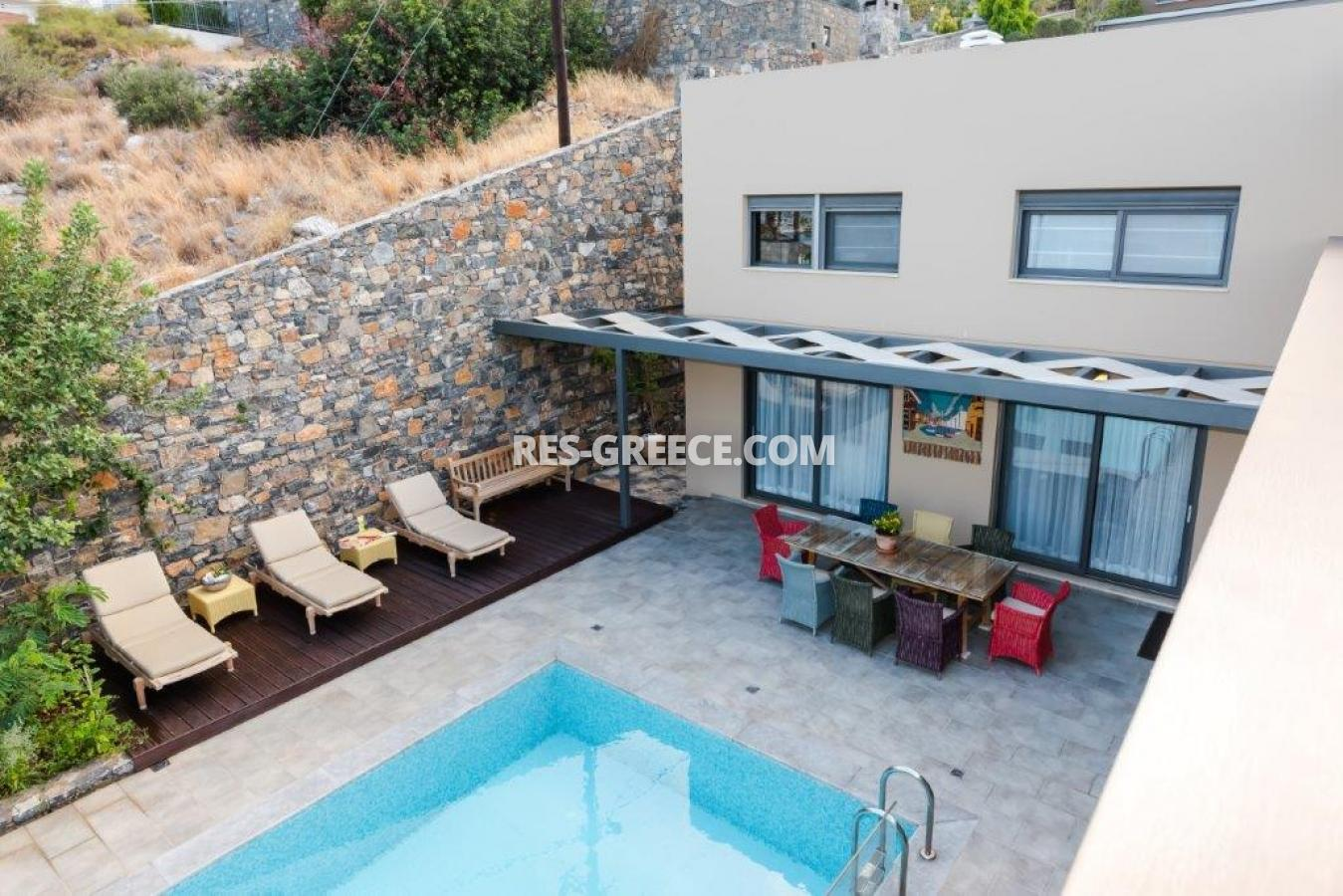 Aura Blue, Crete, Greece - villa with pool for sale in the best spot in Crete, in Elounda - Photo 3