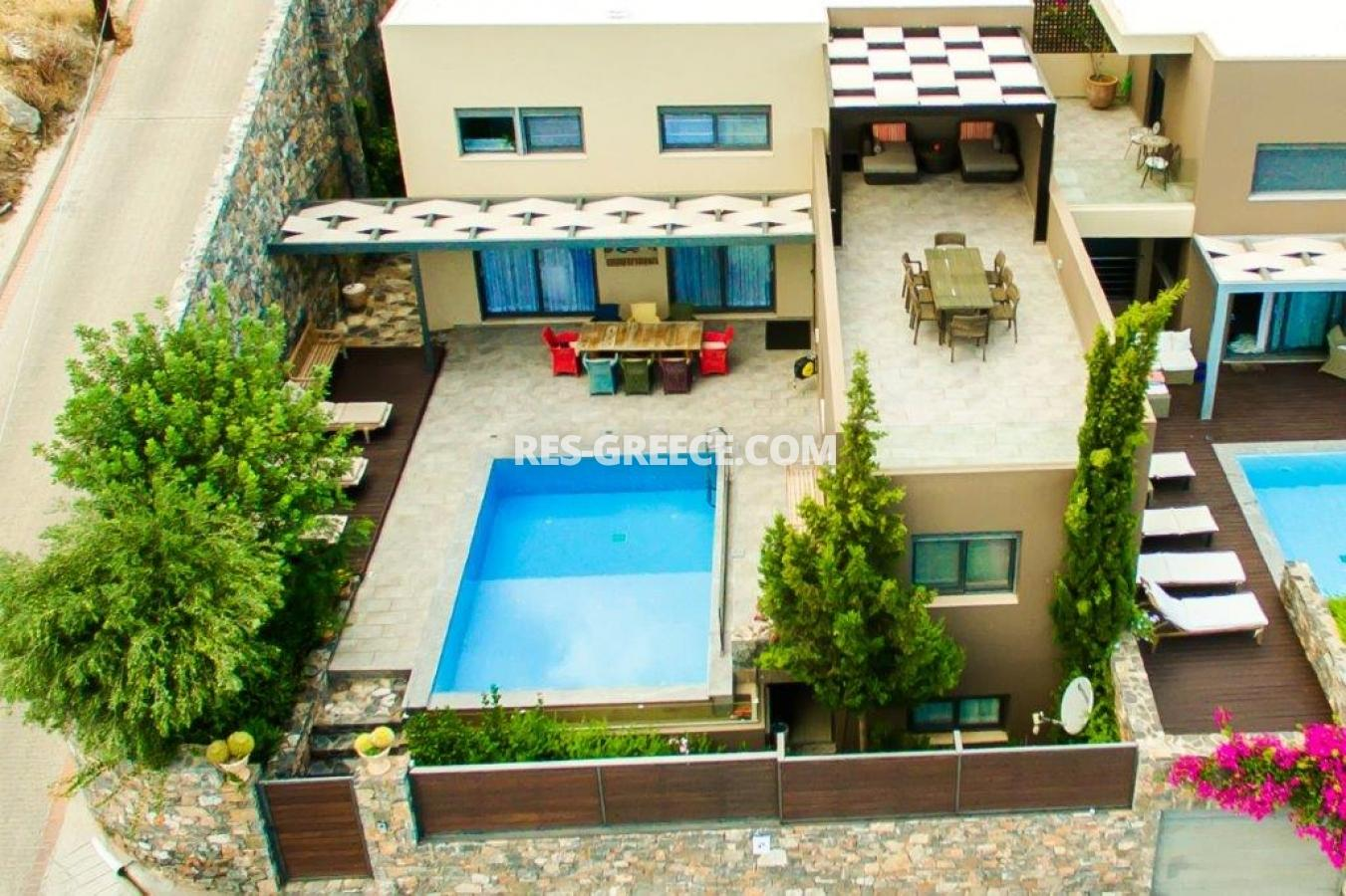 Aura Blue, Crete, Greece - villa with pool for sale in the best spot in Crete, in Elounda - Photo 37