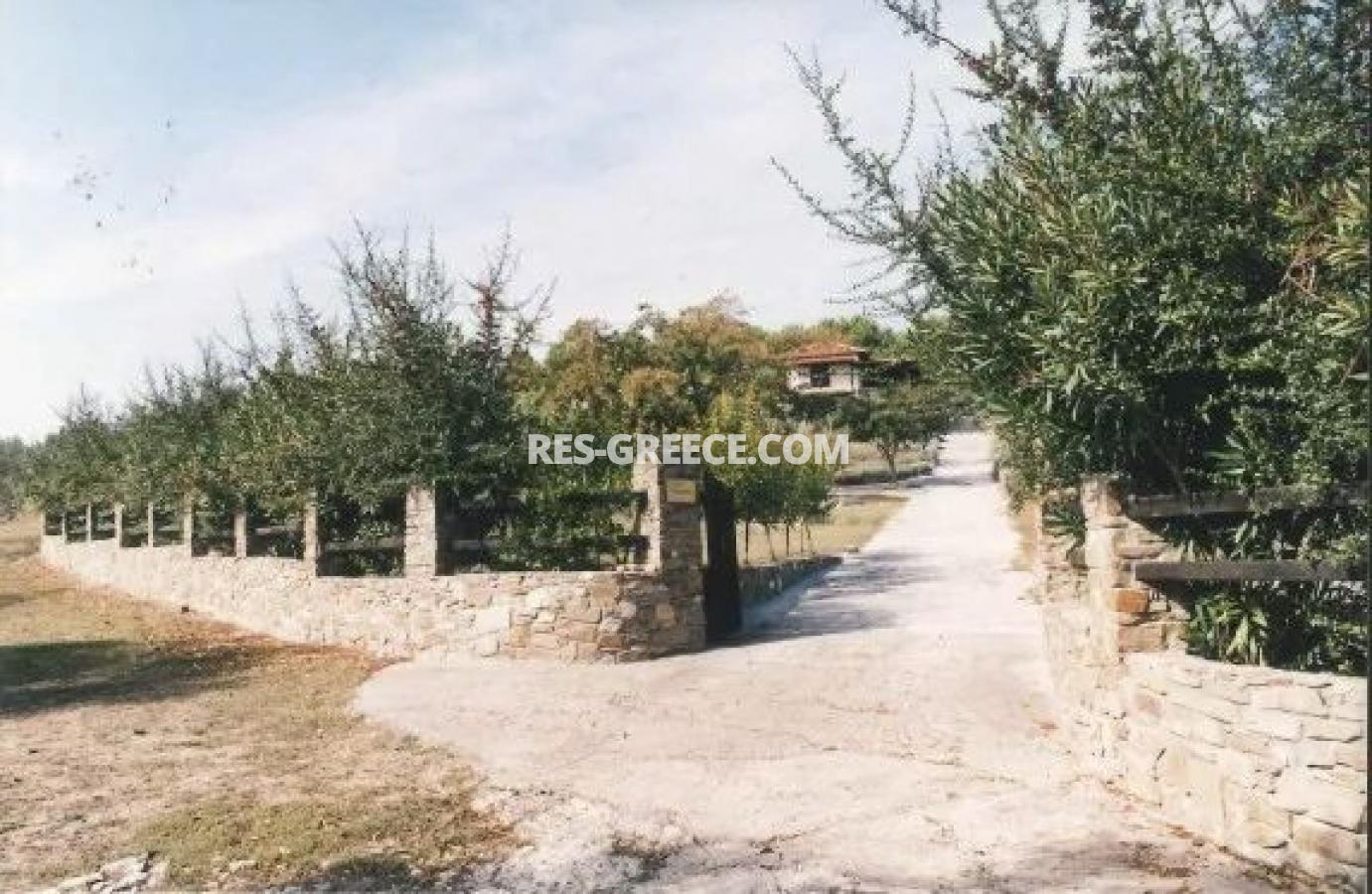 Kipos, Halkidiki-Sithonia, Greece - cottage with a big plot for sale near to the great beach - Photo 5